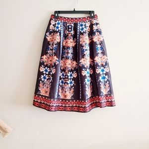 ☀️ 3/$15 Jealous Tomato Floral Skirt S
